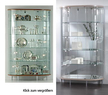 Vitrine Boston Model 5031 und 5033