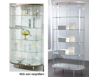 Vitrine Boston Model 5021 und 5023